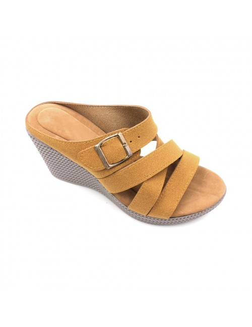 MIDZONE Lady Fashion Wedges MZSW13-1101 Gold