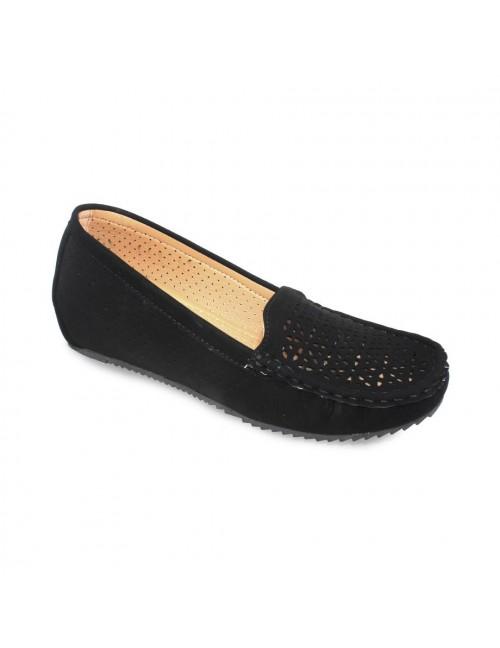 MIDZONE Comfortable Ballet Flat MZYYLK107-3 Black