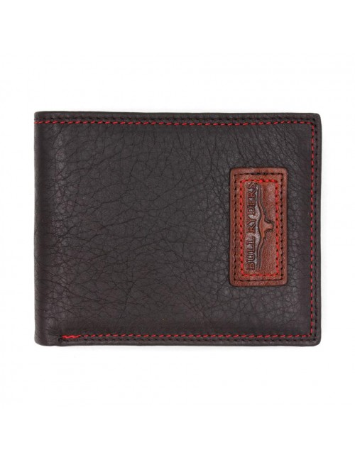 BULL RYDERS Genuine Leather Wallet BWGE-80442