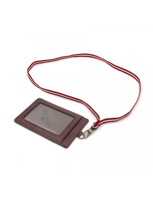 BULL RYDERS Genuine Leather Card Holder BWDG-80102 Dark Brown