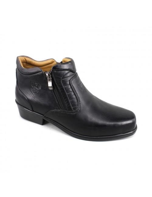 EAGLE HUNTER Handmade Leather Boots EH9757 Black