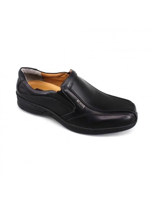 EAGLE HUNTER Handmade Leather Formal EH90203 Black