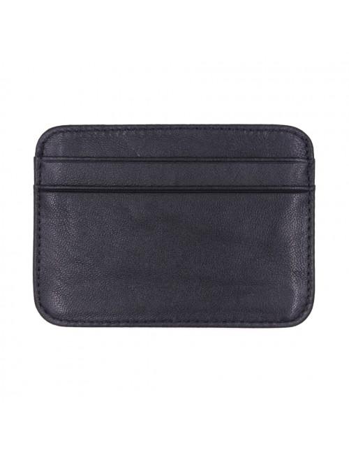 MIDZONE Genuine Leather Card Holder MZWW190501 Black