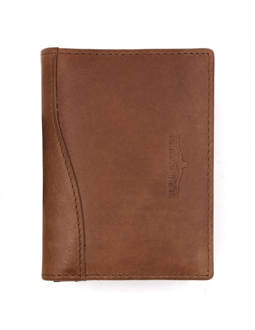 BULL RYDERS Genuine Cow Leather Small Wallet BWGS-80518